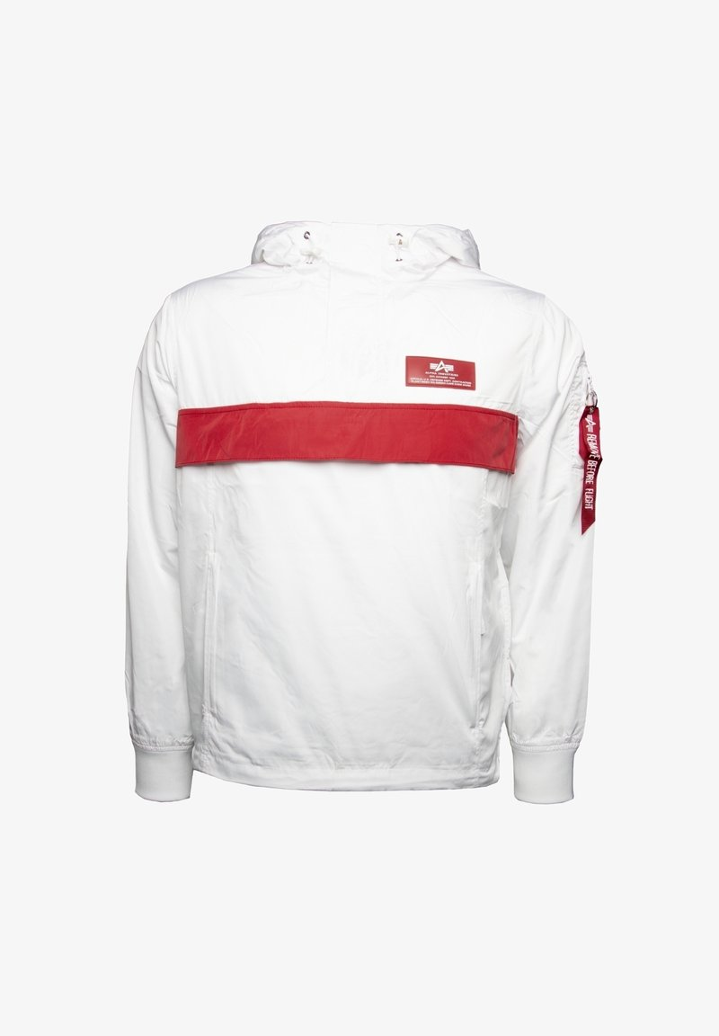 Alpha Industries - DEFENSE - Windbreaker - white