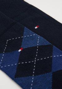 Tommy Hilfiger - MEN SOCK CHECK 2 PACK - Socks - blue - 1