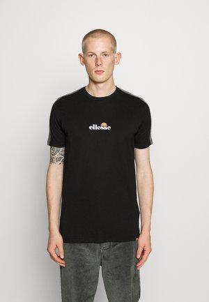 CARCANO - Print T-shirt - black