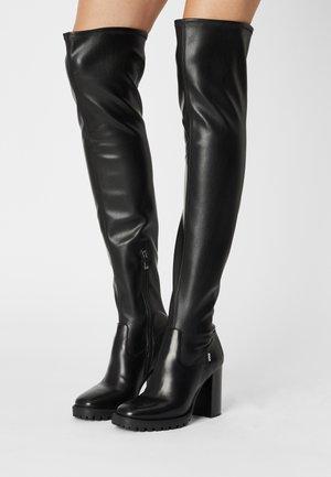 SABRINA - Stivali sopra il ginocchio - black