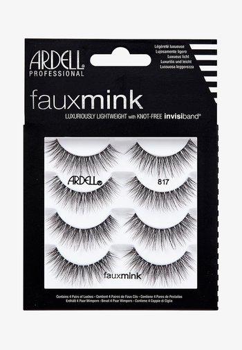 FAUX MINK 817 MULTIPACK - False eyelashes - -