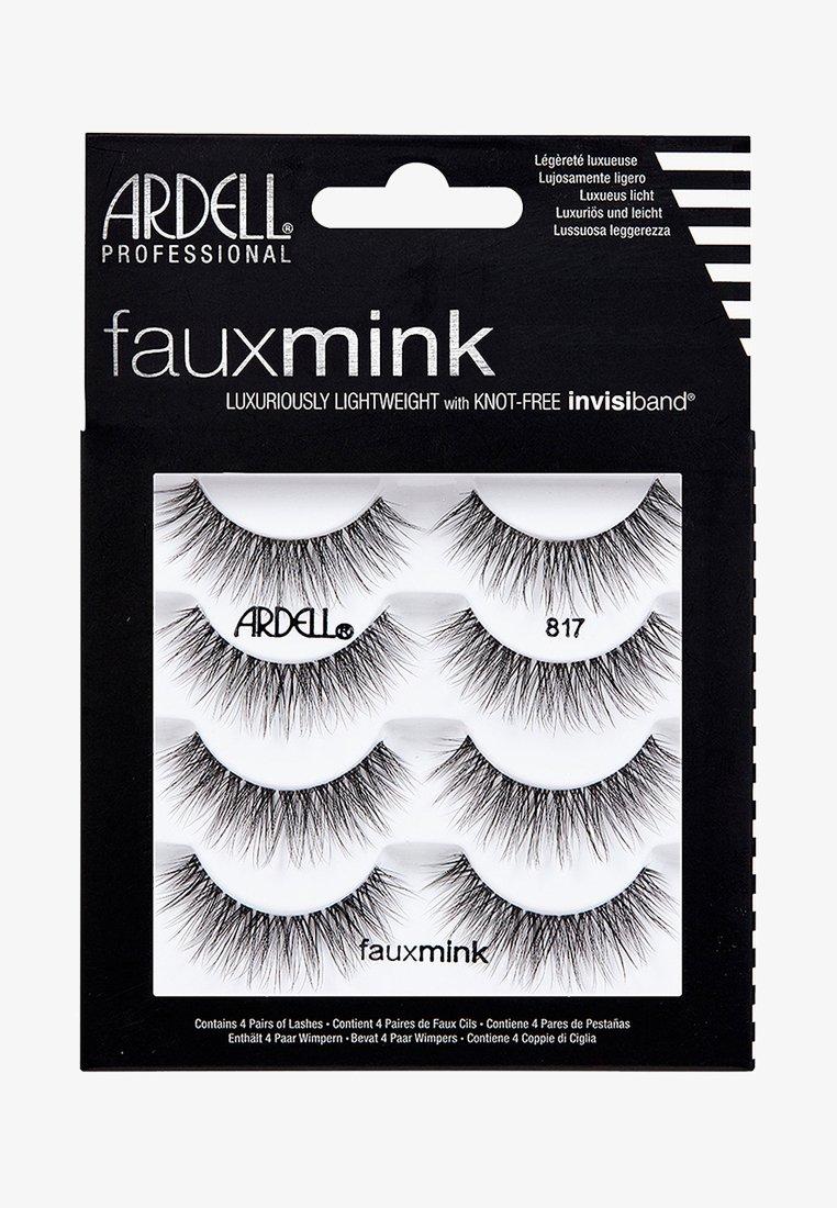 Ardell - FAUX MINK 817 MULTIPACK - False eyelashes - -