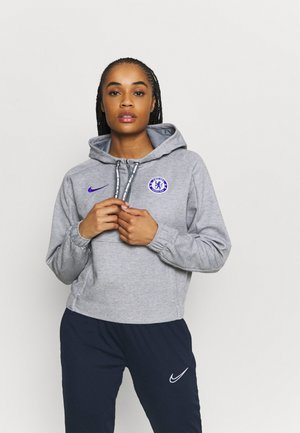 CHELSEA LONDON DRY HOODIE - Club wear - anthracite heather/concord