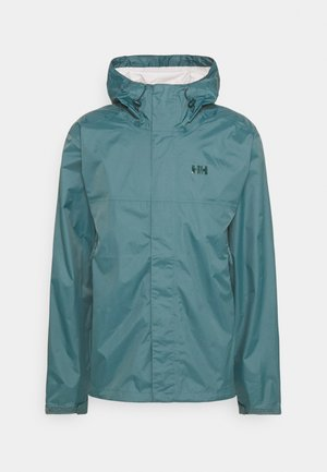 LOKE JACKET - Hardshell jacket - north teal blue