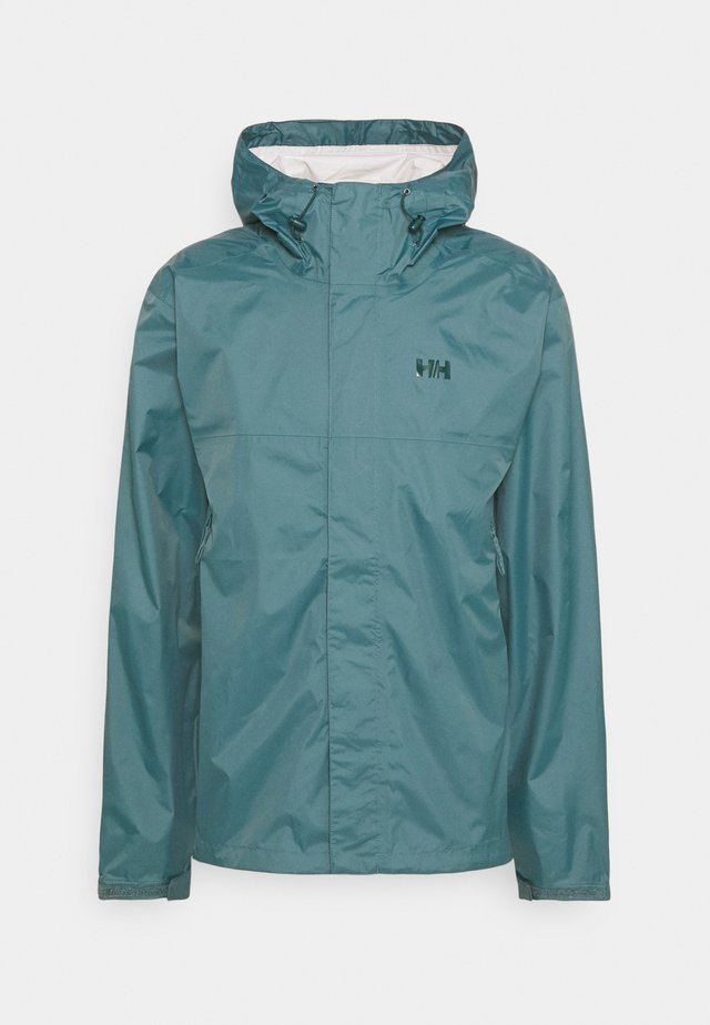 LOKE JACKET - Giacca hard shell - north teal blue