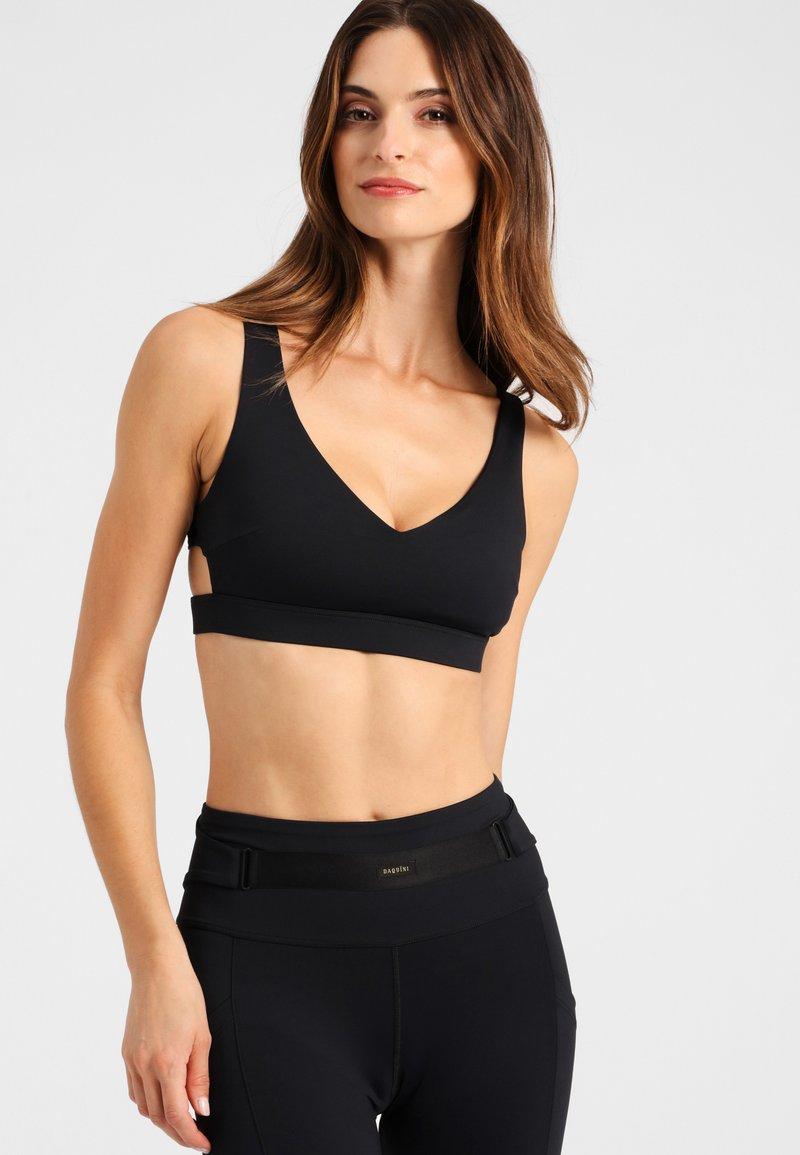 Daquïni - BH INFINITY  - Light support sports bra - black