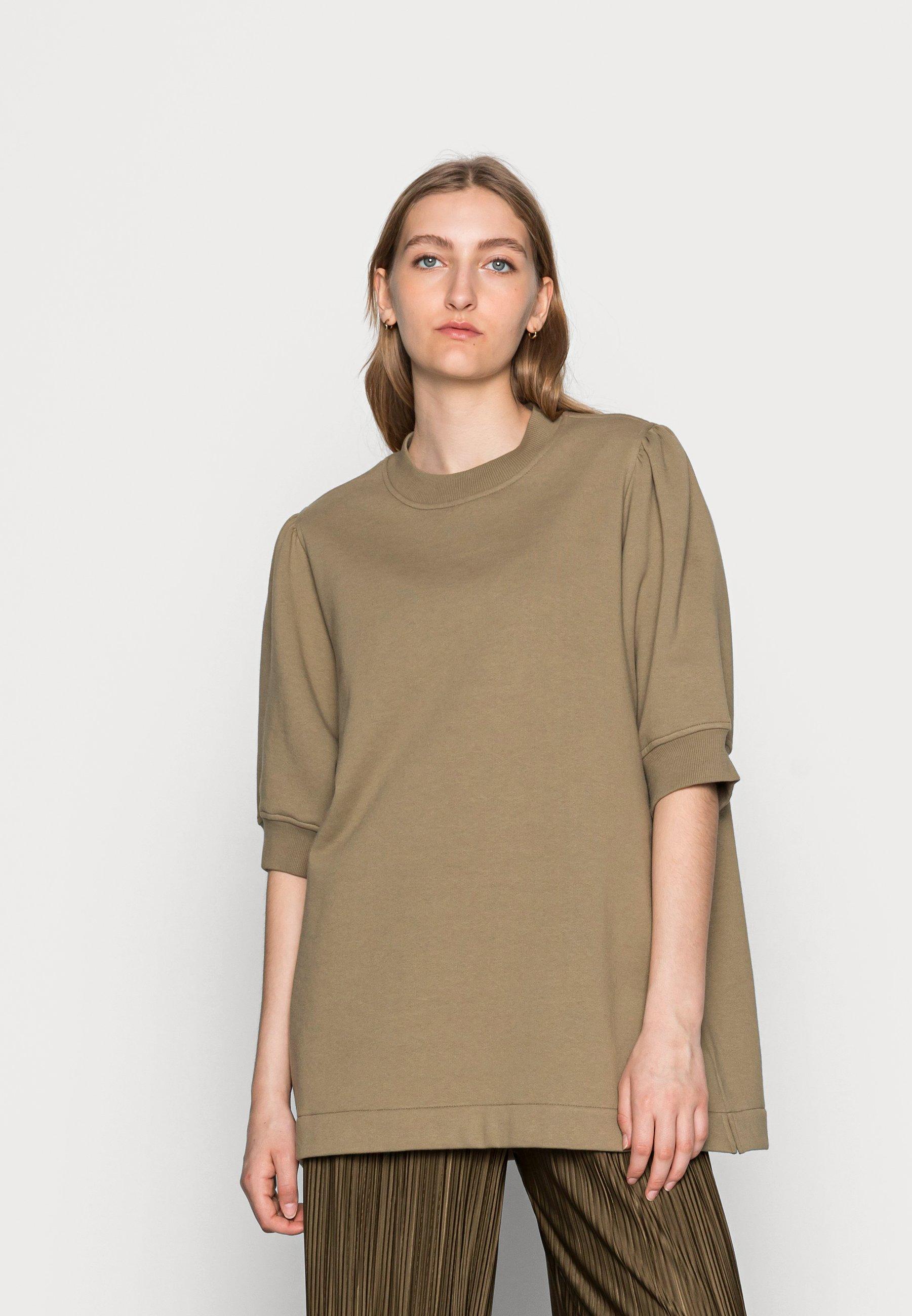 Damen BODIL CREW NECK - T-Shirt basic