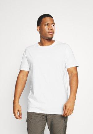 3 PACK - T-shirt basic - black/white/navy