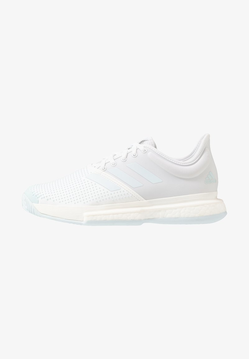 adidas Performance - SOLECOURT BOOST - Multicourt tennis shoes - footwear white/sky tint