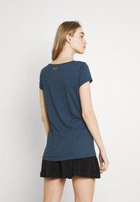 Ragwear - Basic T-shirt - navy - 2