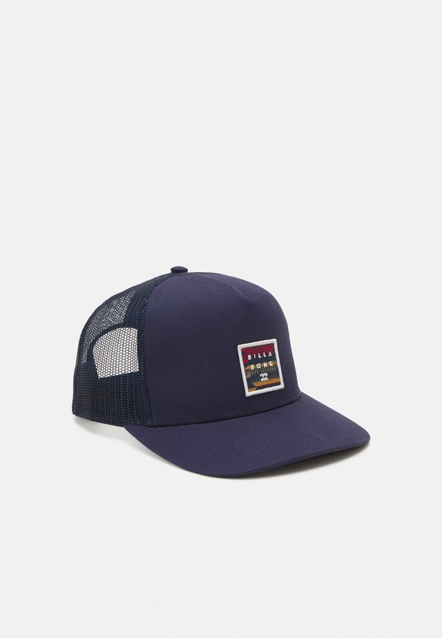 STACKED TRUCKER UNISEX - Kšiltovka - navy