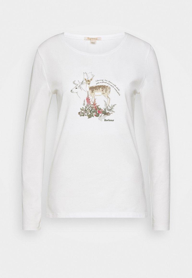 Barbour - LOCKWOOD TEE - Langarmshirt - off white