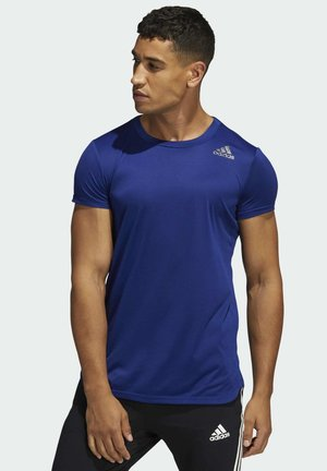 PB ALWAYSOM TEE - T-shirt z nadrukiem - blue