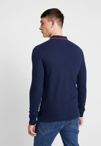 Tommy Jeans - STRETCH LONGSLEEVE  - Polo shirt - dark blue - 2