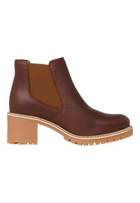 Tamaris - Ankle boots - cognac pull up - 5