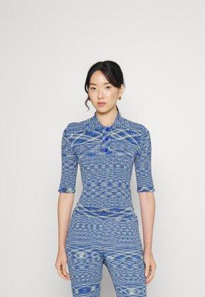 SMOOTH - Polo shirt - blue mix