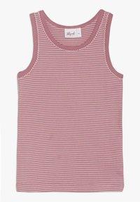 People Wear Organic - 2 PACK - Hemd - beere geringelt - 2