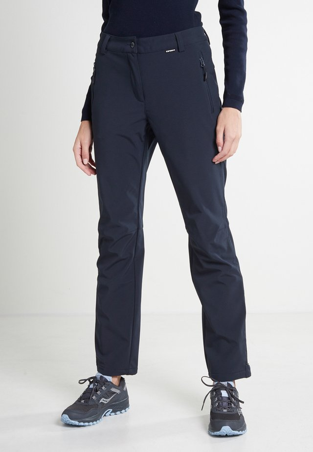 BOVILL - Outdoor trousers - dunkel blau