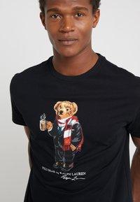 Polo Ralph Lauren - T-Shirt print - black - 4