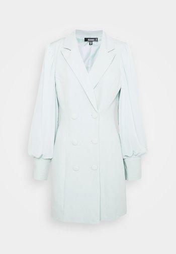 SLEEVE BLAZER DRESS - Shirt dress - mint