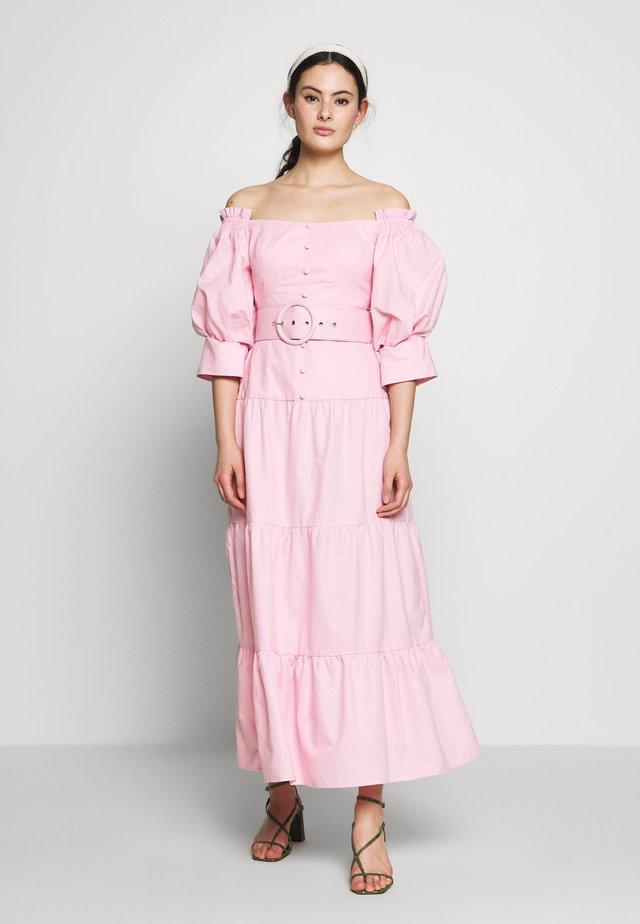 ON THE BOULEVARD DRESS - Maxi dress - pink