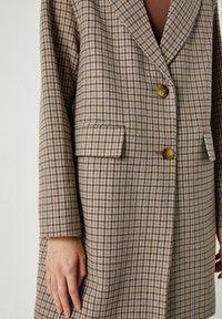 PULL&BEAR - Short coat - dark grey - 4