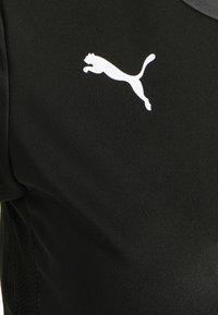 Puma - TEAM GOAL  - Treningsskjorter - black/asphalt - 5