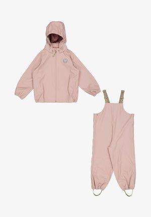 SET CHARLIE - Rain trousers - rose