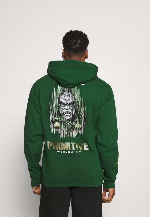 DOOM HOOD - Sweatshirt - dark green