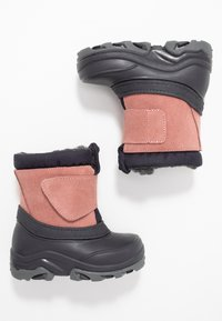 Friboo - Winter boots - dark blue/rose - 0