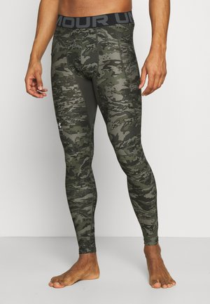 Leggings - baroque green