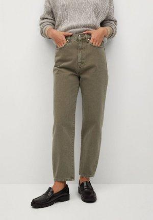 VERONICA - Jeans Straight Leg - kaki