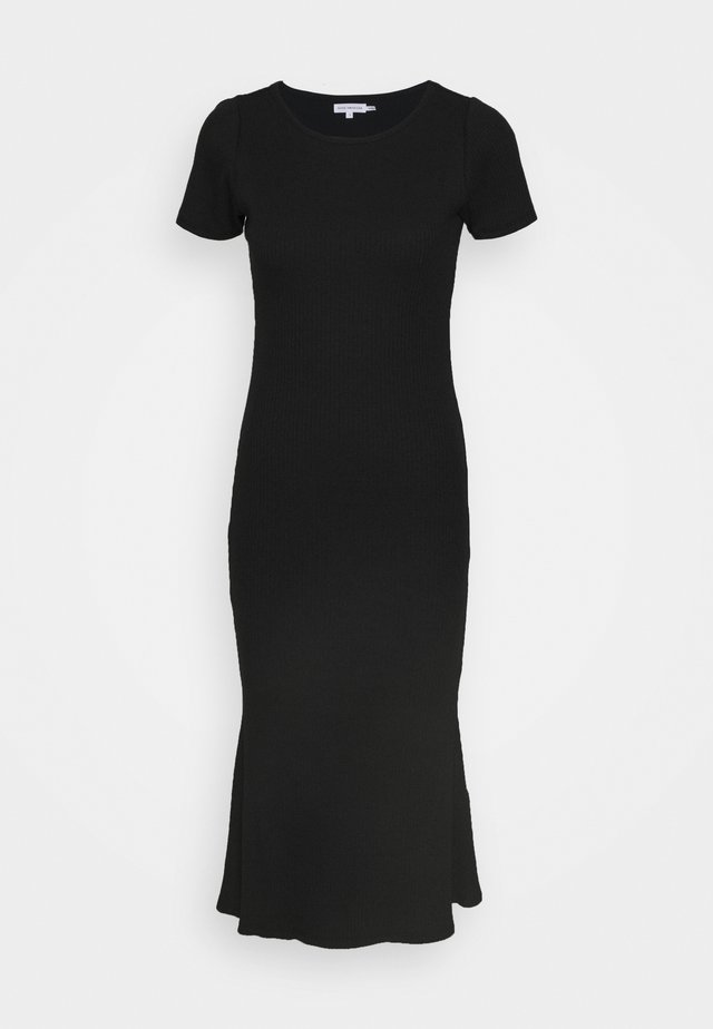 MIDI DRESS - Shift dress - black