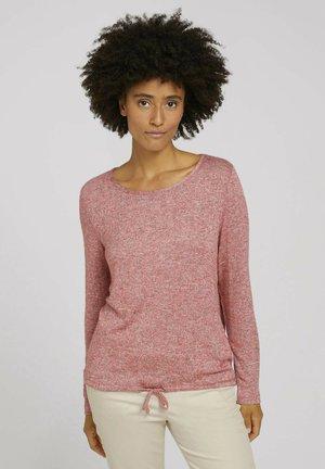 Blouse - cozy pink melange