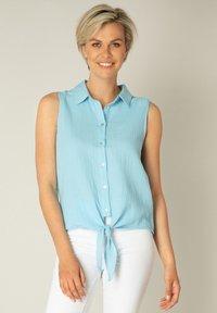 Yest - KADY - Button-down blouse - heaven blue - 0