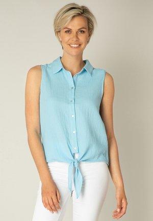 KADY - Button-down blouse - heaven blue