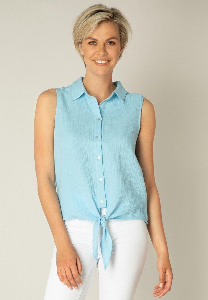 Yest - KADY - Button-down blouse - heaven blue