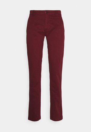 SCANTON PANT - Chinosy - liberty red