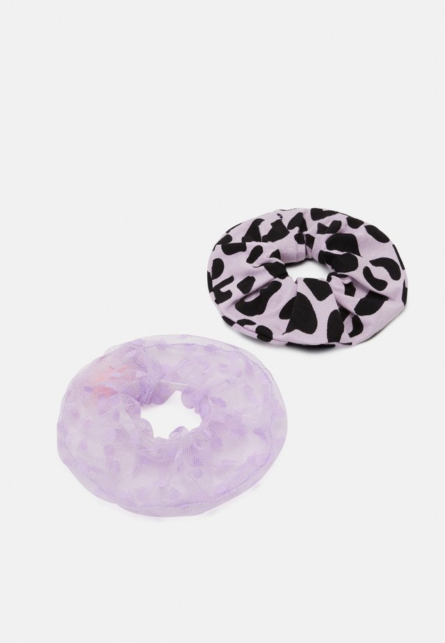 SCRUNCHIE LEO 2 PACK - Haaraccessoire - puple /pink