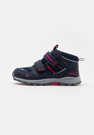HOVET TEX UNISEX - Hiking shoes - navy/pink