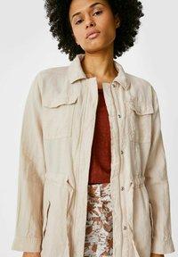 C&A - Leinen - Summer jacket - taupe - 2