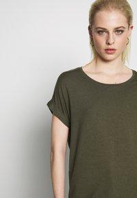 ONLY - ONLMOSTER ONECK - T-shirts - grape leaf - 3