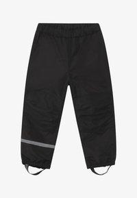 Lindex - MINI  - Pantalones impermeables - black - 2