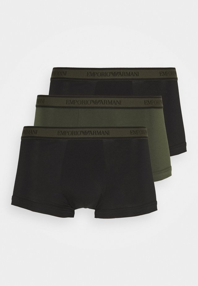 TRUNK 3 PACK - Pants - nero/militare