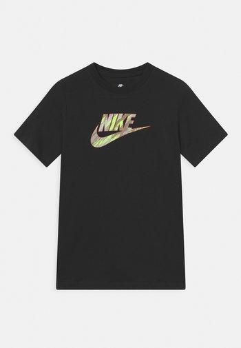 TEE CAMO FUTURA - Camiseta estampada - black