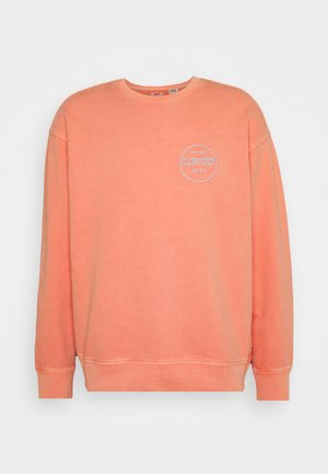RELAXED GRAPHIC CREW - Sweatshirt - reds