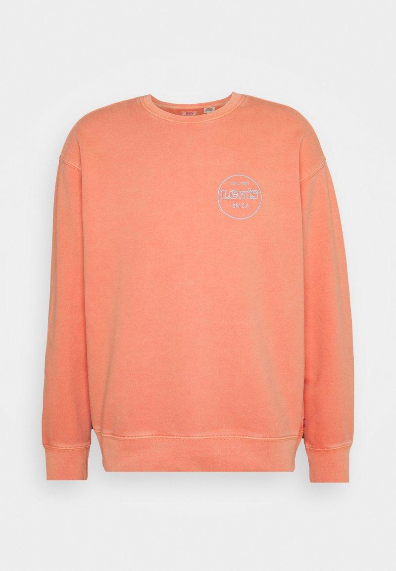 Levi's® - PRIDE RELAXED GRAPHIC CREW UNISEX - Sweatshirt - reds