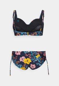 O'Neill - LENA MONA FIX SET - Bikini - blue/yellow - 1