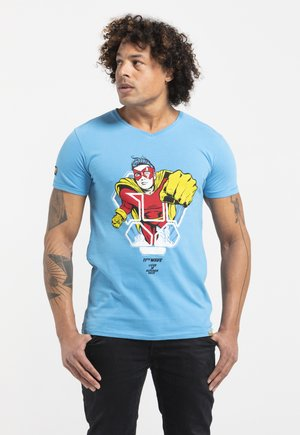 LIMITED TO 360 PIECES - BUTCHER BILLY - HERO - Print T-shirt - royal blue