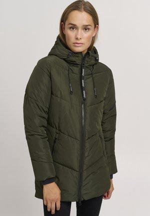 JUNCHEN - Winter coat - grey denim